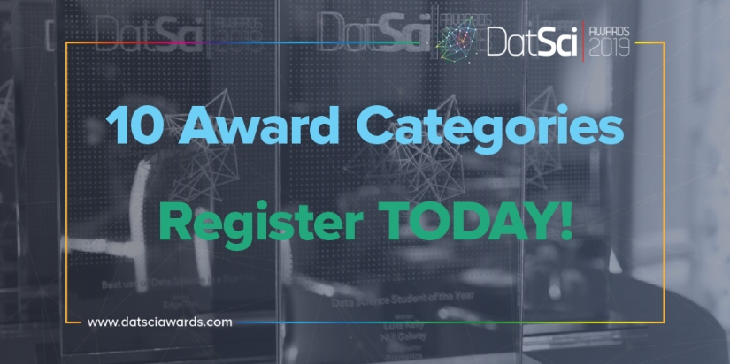 10 Awards to compete in The European DatSci _ AI Awards 2019